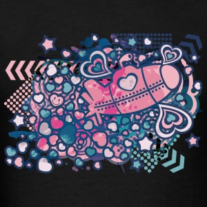 Romance_On_A_Submarine - Men's T-Shirt
