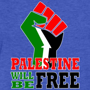 Palestine will be free - Fitted Cotton/Poly T-Shirt by Next Level