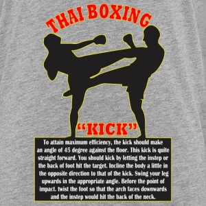 Thai Boxing - Toddler Premium T-Shirt