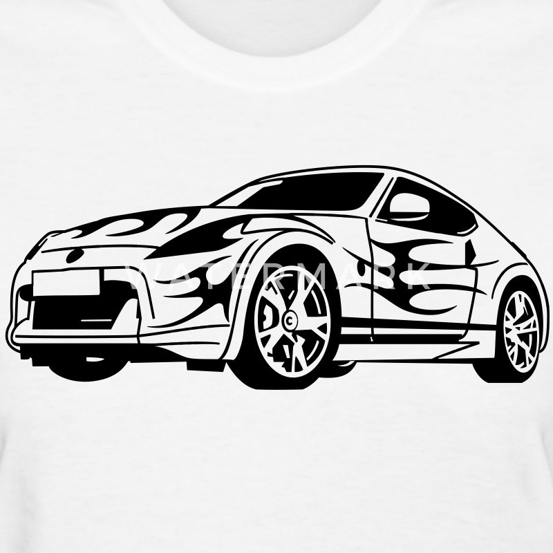 370z HD Vector Women's T-Shirts - Women's T-Shirt