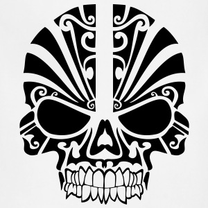 Tribal Skull HD Vector T-Shirts - Adjustable Apron