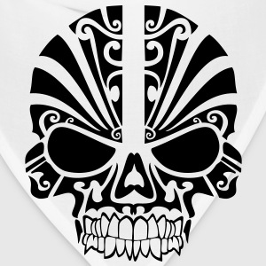 Tribal Skull HD Vector T-Shirts - Bandana