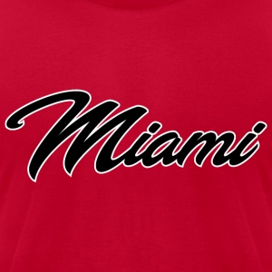 Miami - Men's T-Shirt by American Apparel