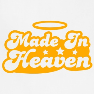 MADE IN HEAVEN design with halo cute! Women's T-Shirts - Adjustable Apron