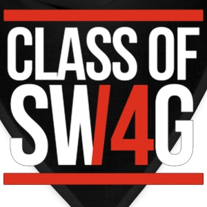 CLASS OF SWAG/14 (RED WITH BANDS)  T-Shirts - Bandana