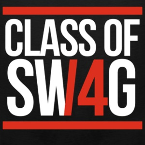 CLASS OF SWAG/14 (RED WITH BANDS)  T-Shirts - Men's Premium Tank