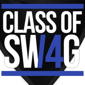 CLASS OF SWAG/14 (BLUE WITH BANDS)  Women's T-Shirts - Bandana