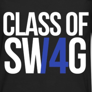 CLASS OF SWAG/14 (BLUE WITH NO BAND)  T-Shirts - Men's Premium Long Sleeve T-Shirt