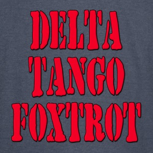 DTF Delta Tango Foxtrot / Down To Fuck Hoodies - Vintage Sport T-Shirt
