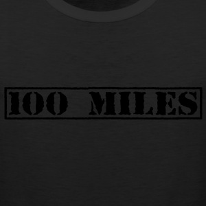 Top Secret 100 Miles Hoodies - Men's Premium Tank