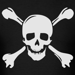 pirate skull jolly rogers Hoodies - Men's T-Shirt