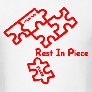 Rest In Piece - Men's T-Shirt