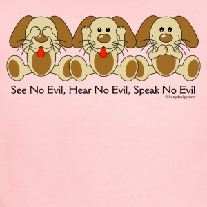 See No Evil Puppies - Short Sleeve Baby Bodysuit