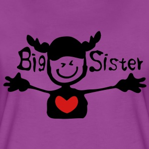 Big sister Baby Long Sleeve One Piece - Women's Premium T-Shirt