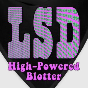 LSD High Powered Blotter Hoodies - Bandana