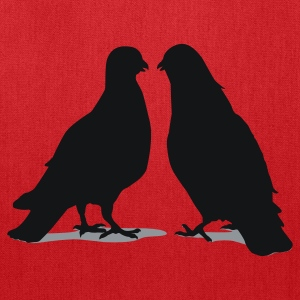 Valentines Dove Couple_2_2c Women's T-Shirts - Tote Bag