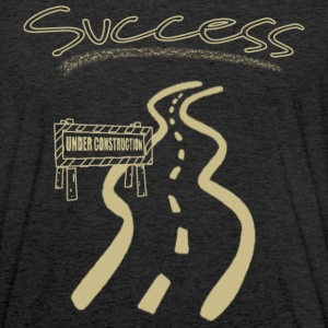 Road to Success - Tri-Blend Unisex Hoodie T-Shirt