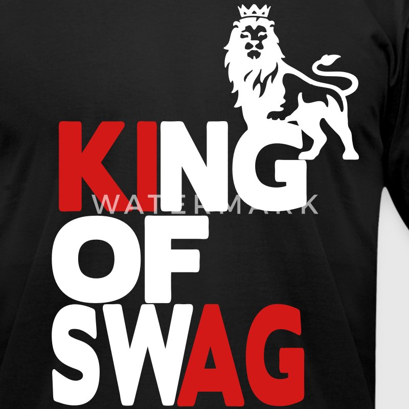 Swag King T-Shirts - Men's T-Shirt by American Apparel