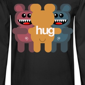 BEAR HUG 3 Women's T-Shirts - Men's Long Sleeve T-Shirt