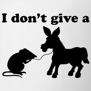 I DON'T GIVE A DONKEY ASS T-Shirts - Coffee/Tea Mug