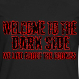 welcome to the dark side - Men's Premium Long Sleeve T-Shirt