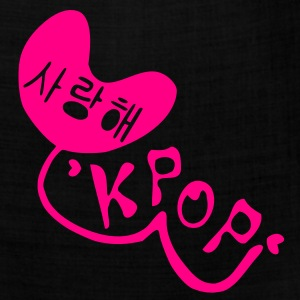 Love KPOP in Korean language Women's Standard Weight T-Shirt - Bandana