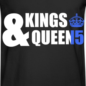 Class of 15 - Kings & Queens (blue without bands) T-Shirts - Men's Long Sleeve T-Shirt