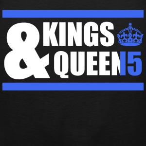 Class of 15 - Kings & Queens (blue with bands) T-Shirts - Men's Premium Tank