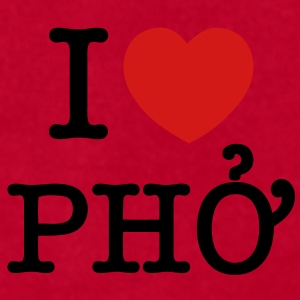 I Heart (Love) Pho - Men's T-Shirt by American Apparel