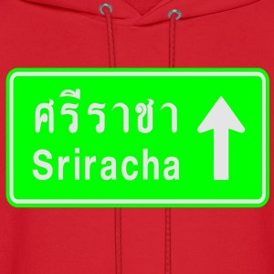 Sriracha, Thailand / Highway Road Traffic Sign - Men's Hoodie