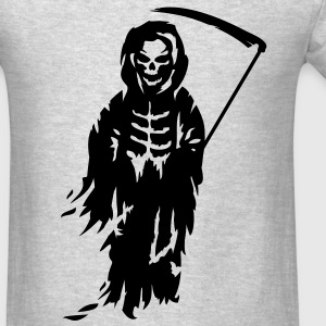 A Grim Reaper - Death with a scythe Long Sleeve Shirts - Men's T-Shirt