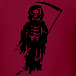 A Grim Reaper - Death with a scythe Hoodies - Men's T-Shirt