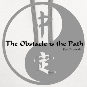 Yin Yang – The Obstacle  - Contrast Hoodie