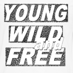 Young Wild & Free Hoodies - Men's Premium Long Sleeve T-Shirt