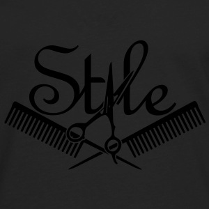 hair style (1c) Bags  - Men's Premium Long Sleeve T-Shirt
