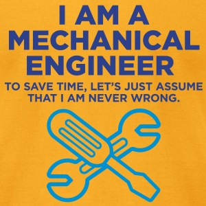 I Am A Mechanical Engineer 3 (2c)++ Bags  - Men's T-Shirt by American Apparel