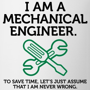 I Am A Mechanical Engineer 2 (2c)++ Polo Shirts - Coffee/Tea Mug
