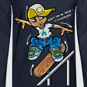 Skateboard trick T-Shirts - Men's Long Sleeve T-Shirt