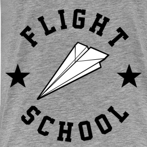 Flight School - Men's Premium T-Shirt