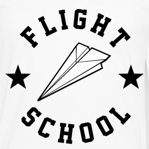 Flight School - Men's Premium Long Sleeve T-Shirt