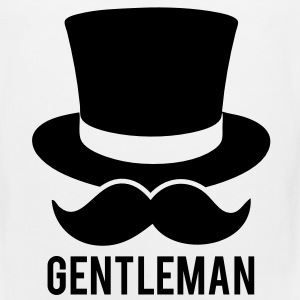 The Gentleman T-Shirts - Men's Premium Tank