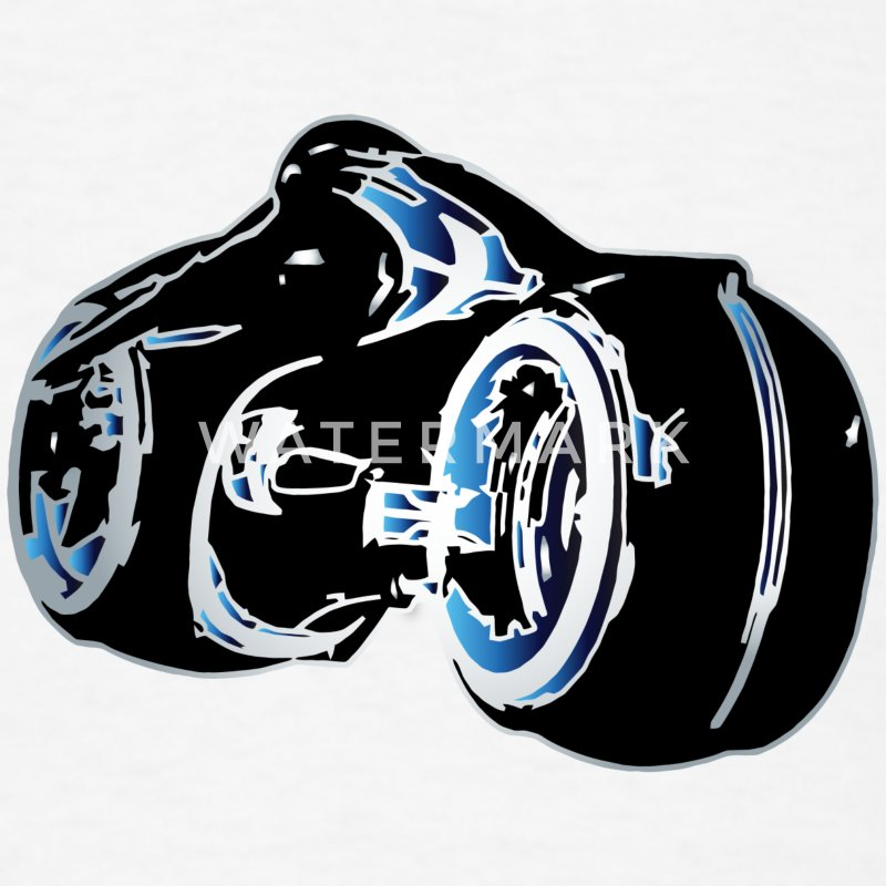 Tron Light Cycle T-Shirt - Men's T-Shirt