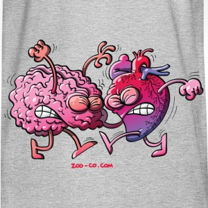 Hearth vs Brain Sweatshirts - Men's Long Sleeve T-Shirt