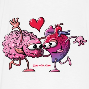 Hearth and Brain: A Love Story Hoodies - Men's Premium T-Shirt
