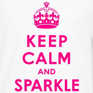 Keep Calm and Sparkle Women's T-Shirts - Men's Premium Long Sleeve T-Shirt