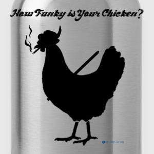 How Funky is Your Chicken? - Water Bottle