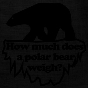 How much does a polar bear weigh? T-Shirts - Bandana