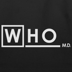 Doctor Who MD white T-Shirts - Eco-Friendly Cotton Tote