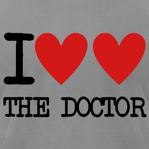 I Heart The Doctor Long Sleeve Shirts - Men's T-Shirt by American Apparel