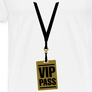 VIP pass Baby Bodysuits - Men's Premium T-Shirt
